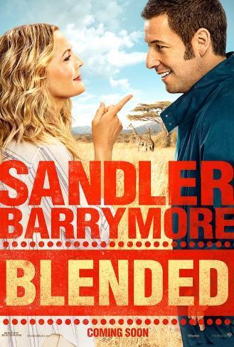 Blended, Drew Barrymore, Adam Sandler (Double Sided) Poster Double-sided poster