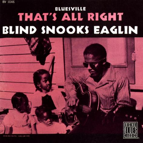 Blind Snooks Eaglin - That's All Right Art Print