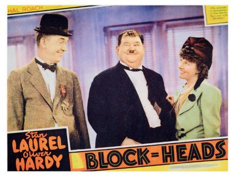 Block-Heads, 1938 Art Print