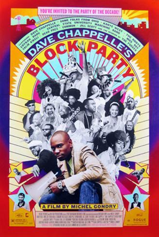 Block Party Original Poster