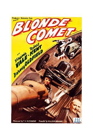 Blonde Comet Giclee Print