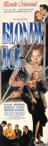 Blonde Ice, 1948 Konstprint