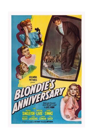 Blonde's Anniversary Giclee Print