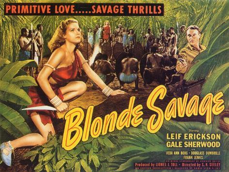Blonde Savage, 1947 Art Print