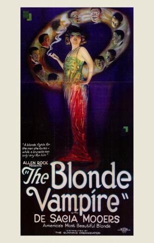 Blonde Vampire Masterprint