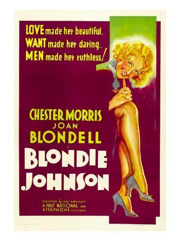 Blondie Johnson, Joan Blondell, 1933 Fotografía
