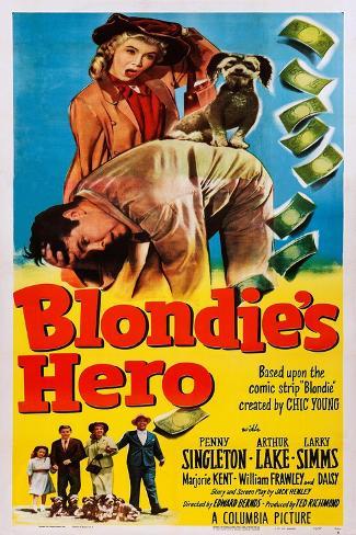 Blondie's Hero Art Print