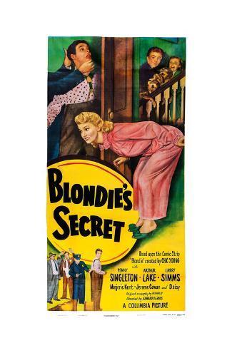 Blondie's Secret Art Print
