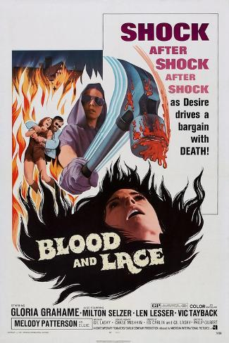 Blood and Lace, 1971 Art Print