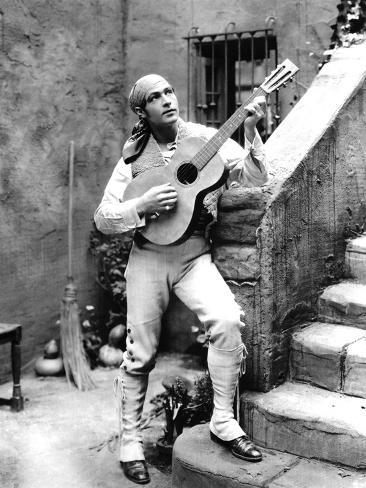 Blood And Sand, Rudolph Valentino, 1922 Photo