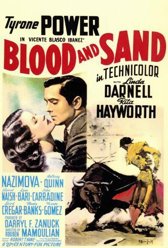 Blood and Sand Masterprint
