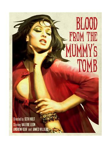 Blood From the Mummy's Tomb 1971 アートプリント