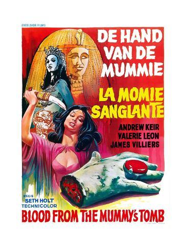 Blood from the Mummy's Tomb, (AKA De Hand Van De Mummie, Aka La Momie Sanglante), 1971 Giclee Print