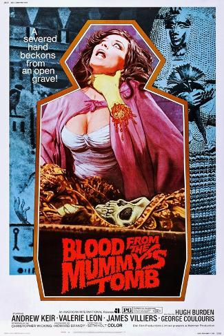 Blood from the Mummy's Tomb Konstprint