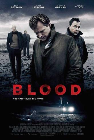 Blood Movie Poster Masterprint