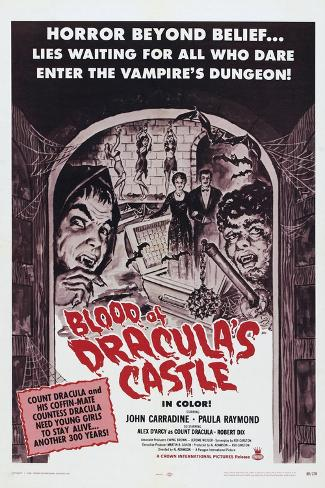Blood of Dracula's Castle Art Print