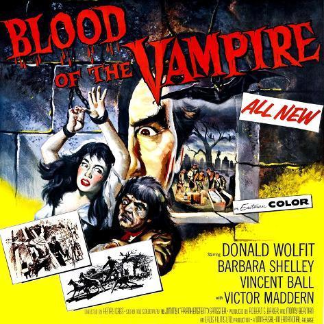 Blood of the Vampire, 1958 Photo