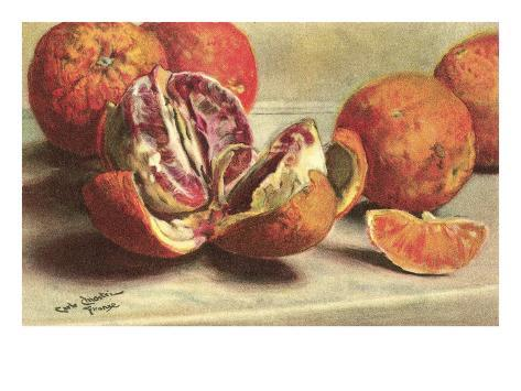Blood Oranges Taidevedos