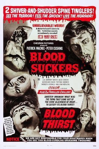 Blood Suckers (aka Bloodsuckers) Art Print