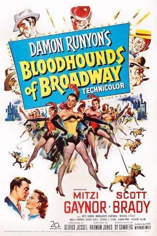 Bloodhounds of Broadway Art Print