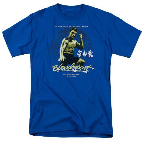 Bloodsport- True American Ninja Story T-Shirt