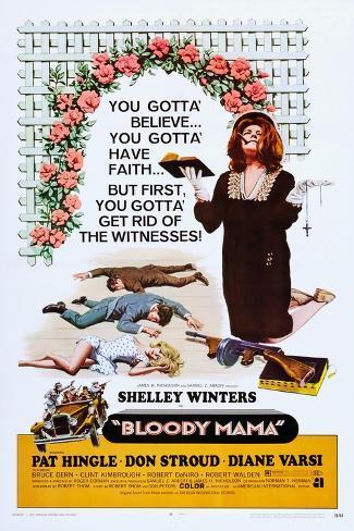 Bloody Mama Impressão artística