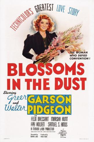 Blossoms in the Dust, Greer Garson, 1941 Art Print
