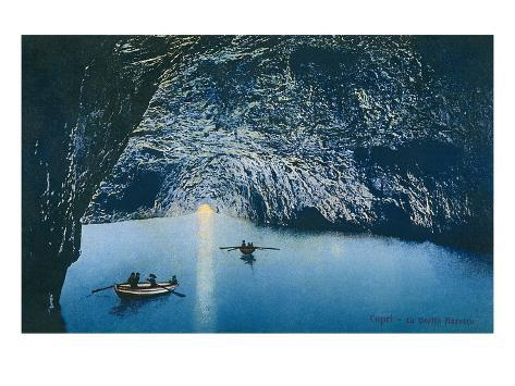 blue grotto capri italy posters at allposters com au
