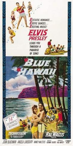 Blue Hawaii Poster