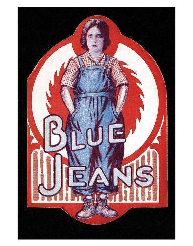 Blue Jeans - 1917 Giclee Print
