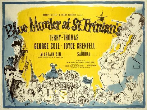 Blue Murder at St. Trinian'S Art Print