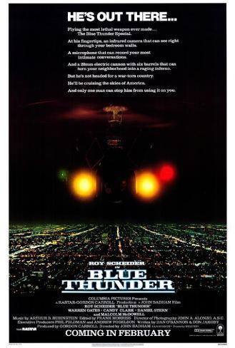 Blue Thunder Pôster