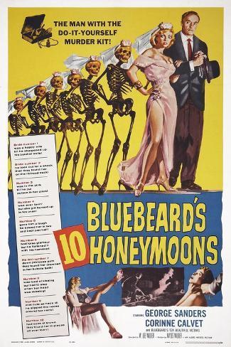 Bluebeard's Ten Honeymoons Art Print