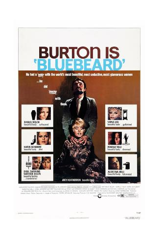 Bluebeard Stampa giclée