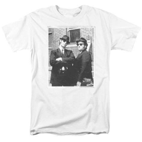Blues Brothers - Brick Wall T-Shirt