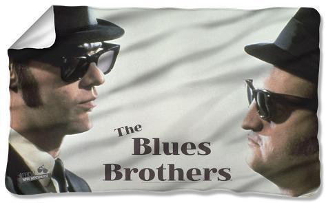 Blues Brothers - Brothers Fleece Blanket Fleece Blanket