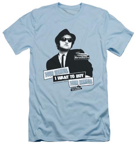 Blues Brothers - Women (slim fit) T-Shirt