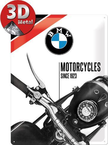 BMW Motorcycles Since Tin Sign AllPosterscouk - Bmw motorcycle tin signs