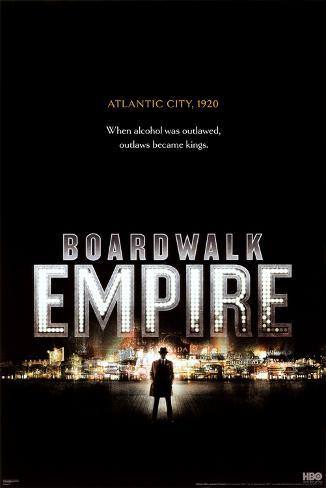 Boardwalk Empire - City in Lights Poster