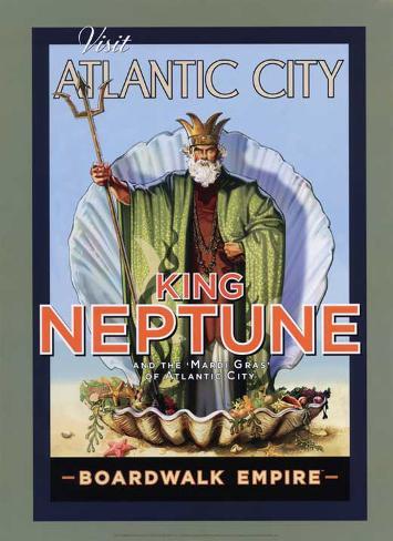 Boardwalk Empire - King Neptune Masterprint