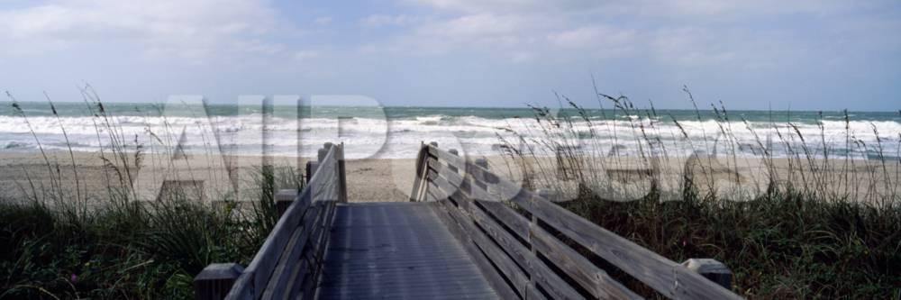 Boardwalk On The Beach Nokomis Sarasota County Florida Usa Photographic Print At Allposters