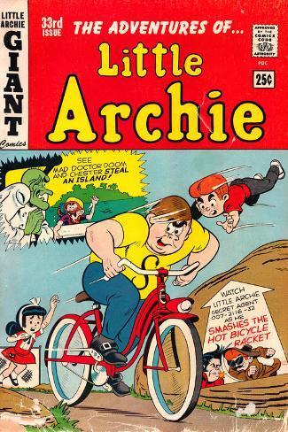 Archie Comics Retro: Little Archie Comic Book Cover No.33 (Aged) Poster