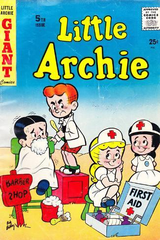 Archie Comics Retro: Little Archie Comic Book Cover No.5 (Aged) Poster