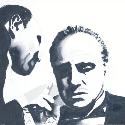 Don Corleone Art Print