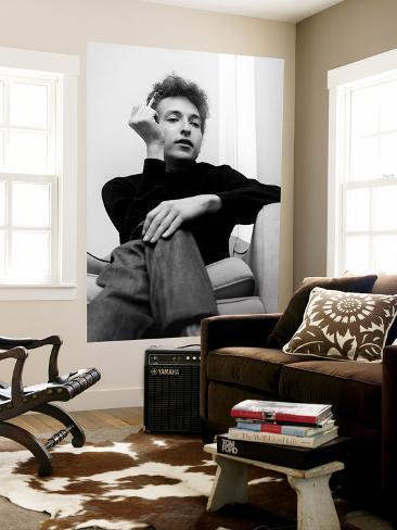 Bob Dylan Laminated Oversized Art