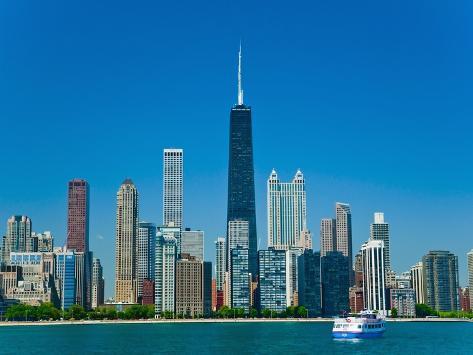 Chicago skyline Photographic Print