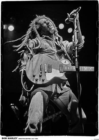 Bob Marley, Brighton 80 Juliste