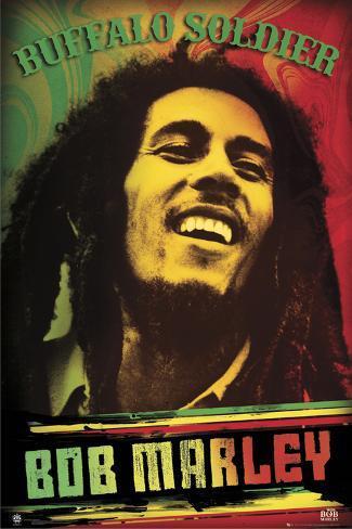 Bob Marley, Buffalo Soldier Poster