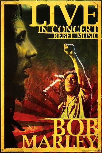 Bob Marley - Concert Poster