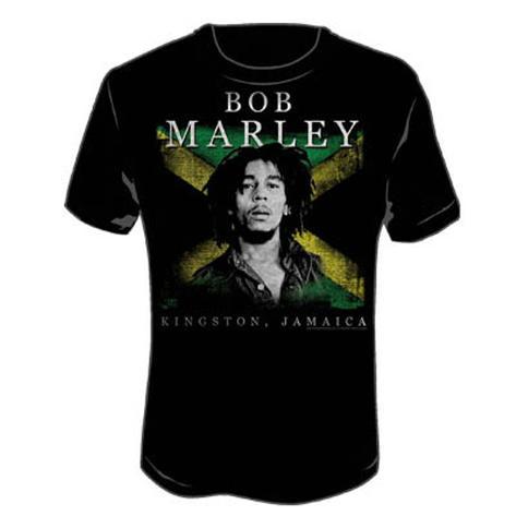 Bob Marley - Kingston Jamaica T-Shirt